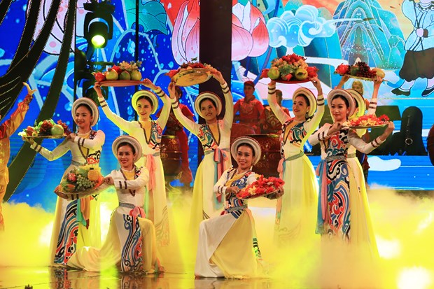 Special spring concert held for overseas Vietnamese people hinh anh 1