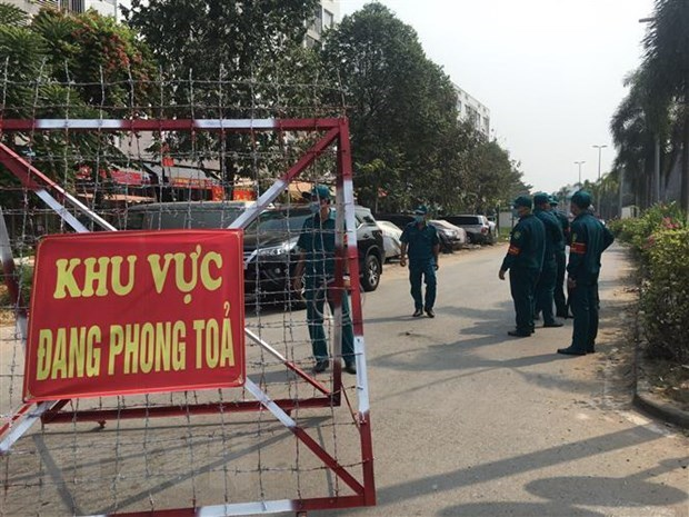 Binh Duong seals off apartment block as new COVID-19 infection detected hinh anh 1