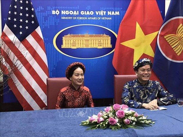 Vietnamese expats in US celebrate Tet in virtual gathering hinh anh 1