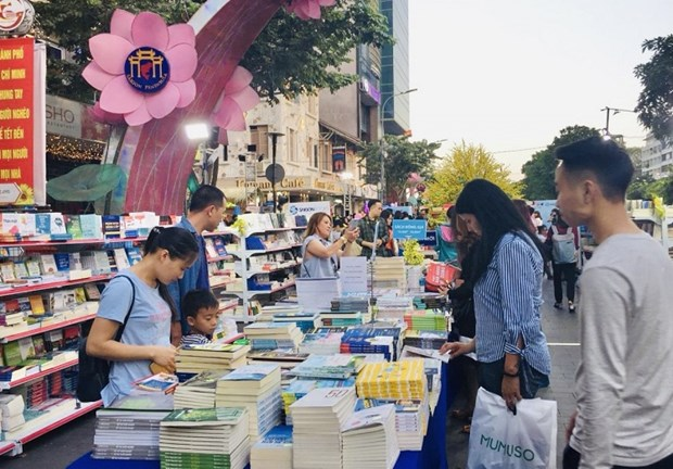 HCM City to open book street festival to mark Tet holiday hinh anh 1
