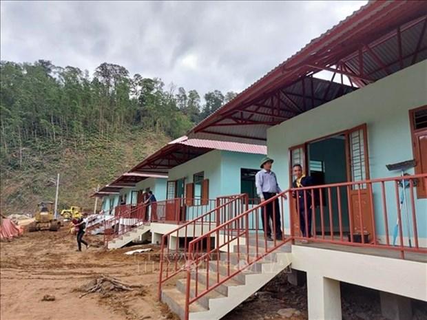 Hope for a community devastated by landslides hinh anh 1