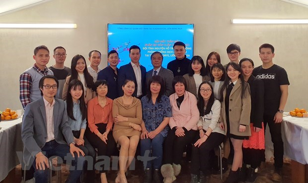 Diplomatic agencies in Australia, Italy, Russia hold Tet gatherings with OVs hinh anh 4