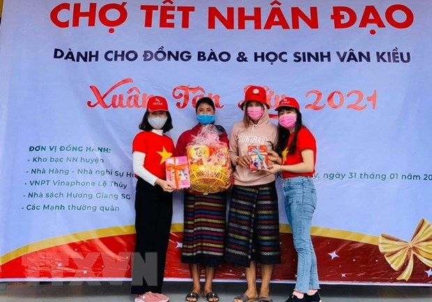 Vietnam Red Cross helping people hit by pandemic, disasters hinh anh 1