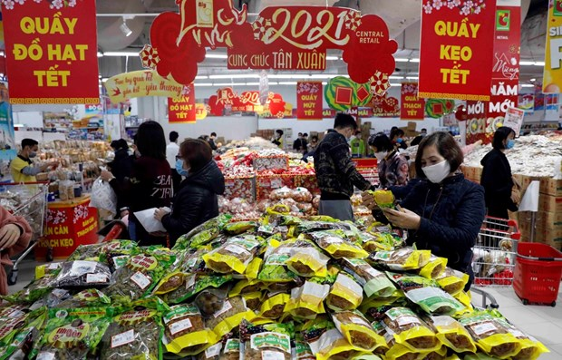Tet sales increase sharply on low prices hinh anh 1
