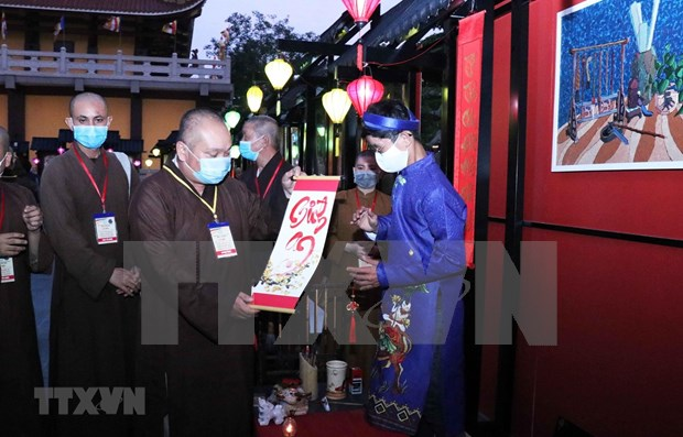HCM City: Calligraphy festival hosted to welcome Year of Buffalo hinh anh 1