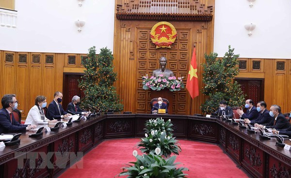 PM hosts heads of UN agencies in Vietnam hinh anh 1