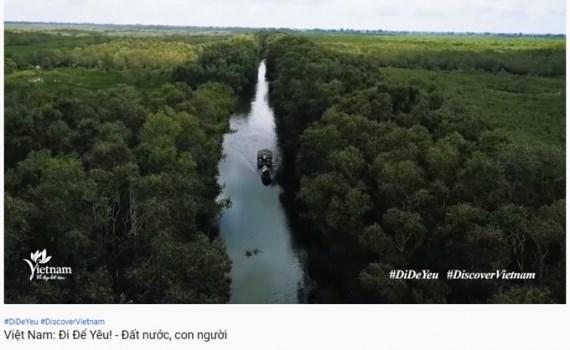 VNAT's video clip promotes Vietnam's natural beauty hinh anh 1