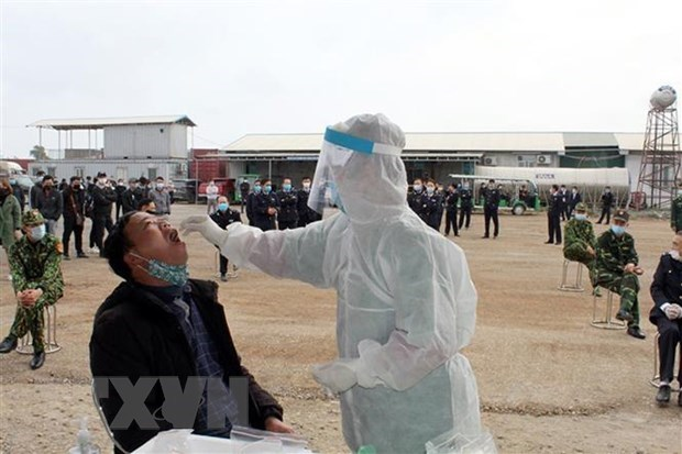 Quang Ninh successfully controls COVID-19 pandemic in one week hinh anh 1
