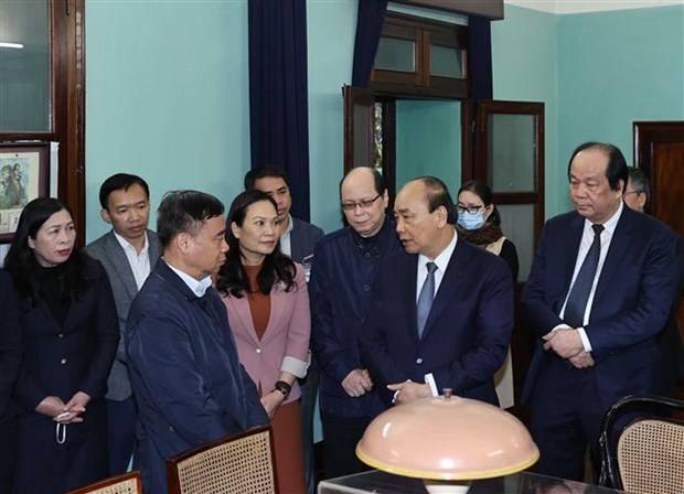 PM pays tribute to late President Ho Chi Minh hinh anh 1