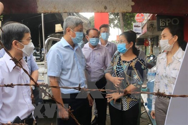 Health official inspects COVID-19 prevention, control in HCM City hinh anh 1