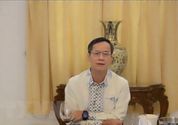 Vietnamese Ambassador delivers online Tet greetings to detained fishermen in Indonesia hinh anh 1