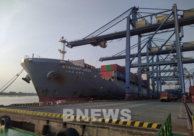 Vietnam receives foreign cargo ships on first day of Lunar New Year hinh anh 1