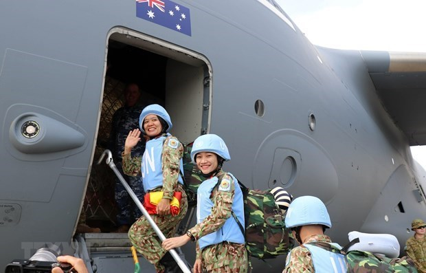 Vietnam proposes COVID-19 vaccination for UN peacekeepers hinh anh 1