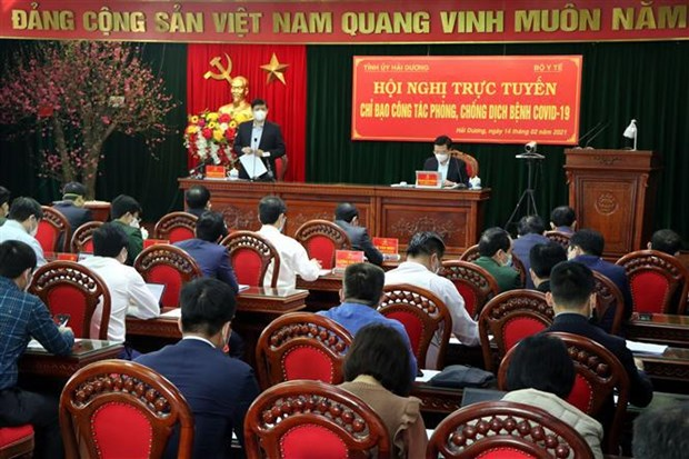 Hai Duong urged to implement COVID-19 combat measures on wider scale hinh anh 2