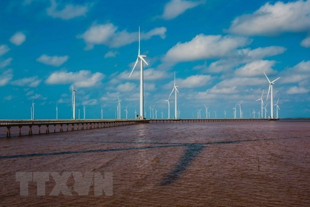 Hapaco eyes investment in 4-trillion-VND wind power project hinh anh 1