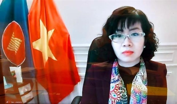 Ambassador stresses Vietnam's policy of promoting women's role hinh anh 1