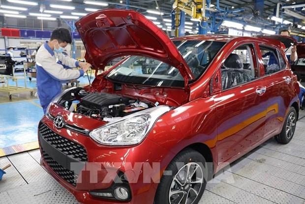Hyundai Thanh Cong targets manufacturing 75,000 vehicles this year hinh anh 1