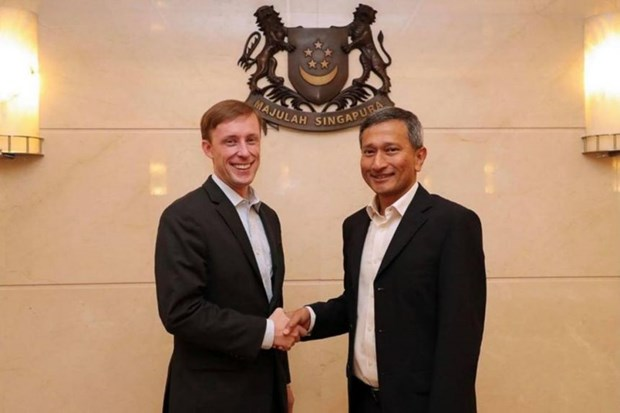 Singapore, US reaffirm wide-ranging cooperation hinh anh 1