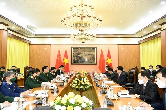 Defence Minister receives Chinese Minister of Public Security hinh anh 1