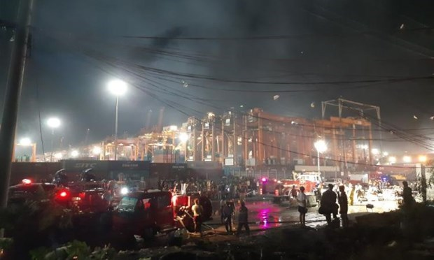Philippines: 5 dead in house fire in Manila hinh anh 1