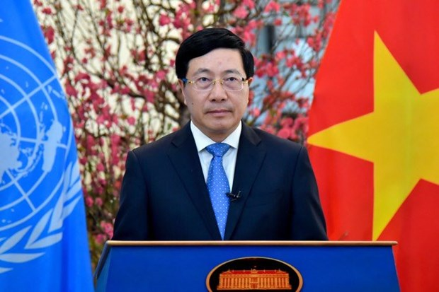 Deputy PM addresses high-level segment of UNHRC's 46th regular session hinh anh 1