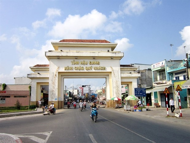 Hau Giang plans 99.5 million USD spending on industrial, logistics development in 2021 hinh anh 1