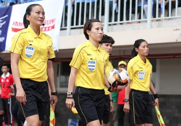 Two Vietnamese among candidate referees for 2023 FIFA Women's World Cup hinh anh 1