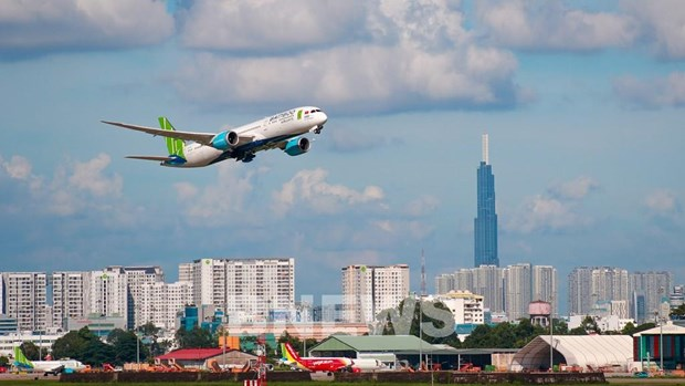 Vietnamese airlines' on-time performance hits 94.6 percent hinh anh 1