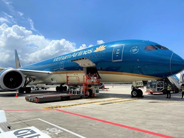 Vietnam Airlines ready to transport COVID-19 vaccines hinh anh 1