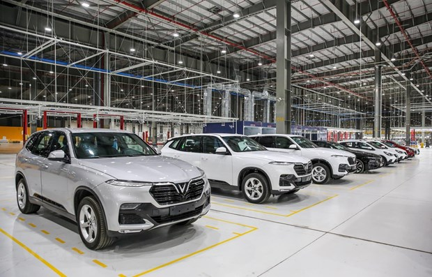 Fall in January imports of completely-built-up motor cars hinh anh 1