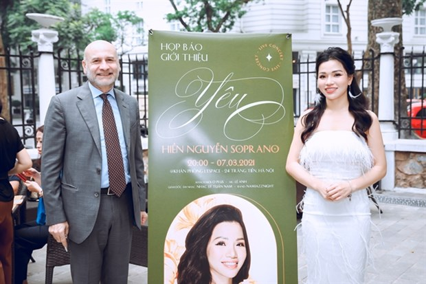 Vietnamese soprano to pay tribute to Italy in debut concert hinh anh 1