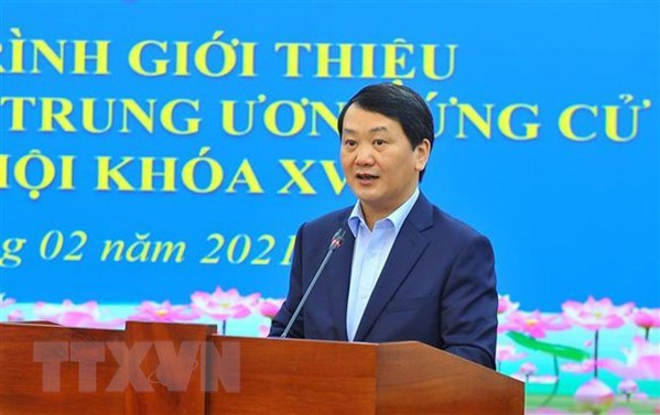 VFF Central Committee gives guidance on introducing candidates for upcoming elections hinh anh 1