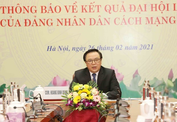 Outcomes of Lao People's Revolutionary Party's 11th National Congress informed to Vietnam hinh anh 2
