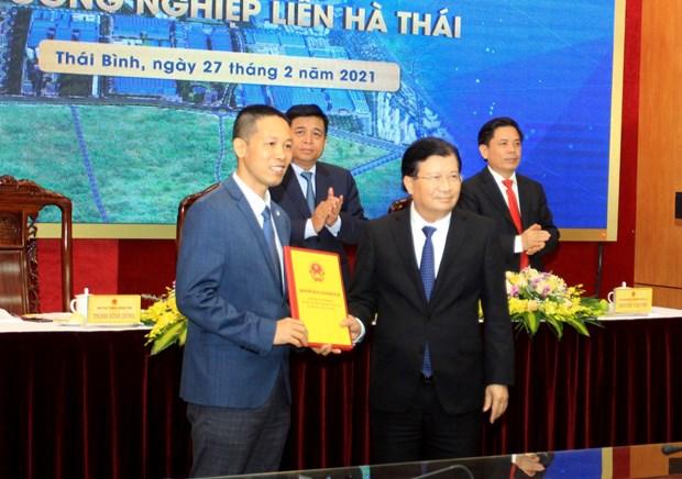 Deputy PM asks Thai Binh to facilitate Lien Ha Thai IP development hinh anh 2