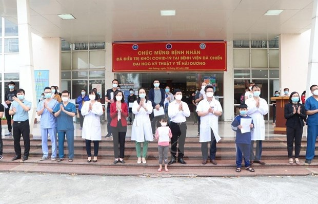 No new case reported on February 27 morning hinh anh 1