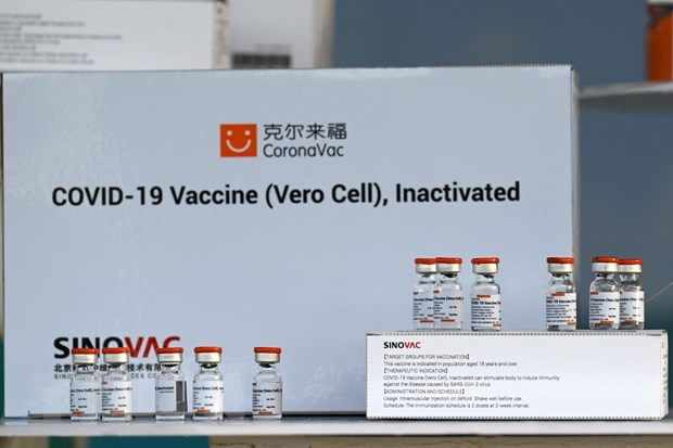 Thailand begins COVID-19 vaccinations hinh anh 1