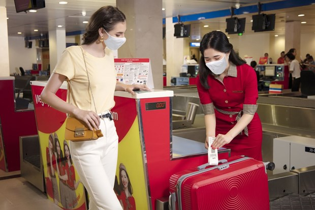 Vietjet offers free baggage allowance on domestic routes hinh anh 1