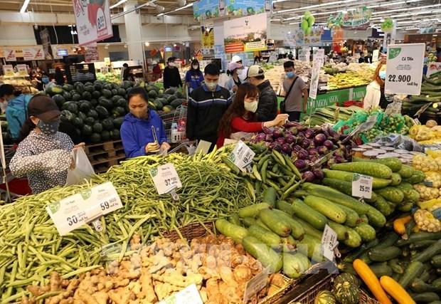 Hanoi's February consumer price index up 1.8 percent hinh anh 1