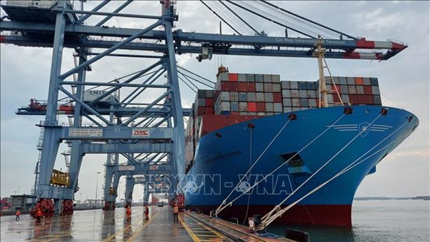 Foreign ship arrivals down 6 percent in first two months hinh anh 1
