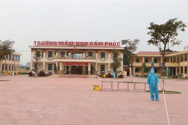 New COVID-19 infections number 13, including 8 from Hai Duong hinh anh 1