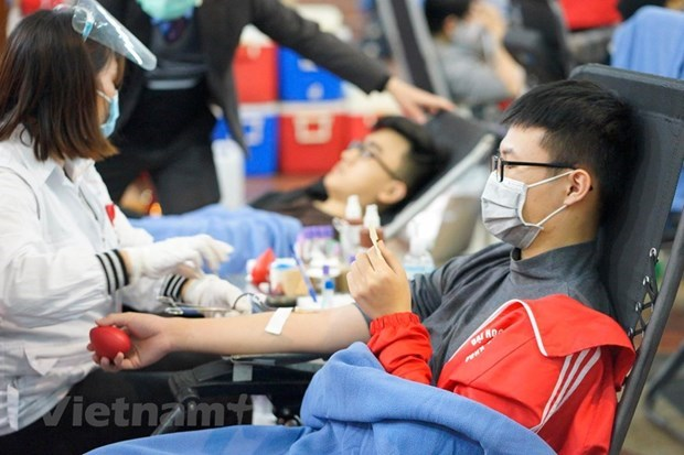 Red Spring Festival expects to collect over 4,000 blood units hinh anh 1