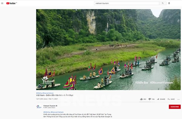 Digital platforms used to promote Vietnam's tourism hinh anh 1
