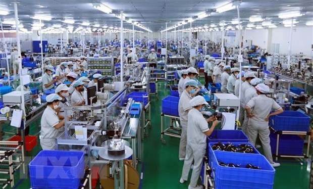 Hanoi's industrial production jumps 7.5 percent hinh anh 1