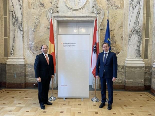 Vietnam, Austria shape up economic-trade cooperation hinh anh 1
