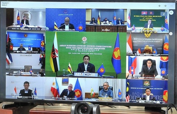 27th ASEAN Economic Ministers' Retreat adopts 10 initiatives, priorities hinh anh 2