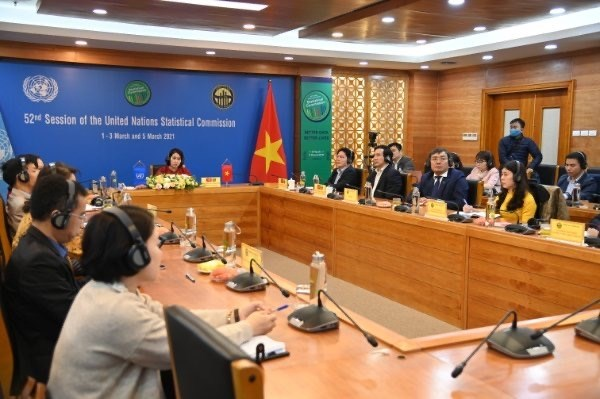 Vietnam attending 52nd session of UN Statistical Commission hinh anh 1
