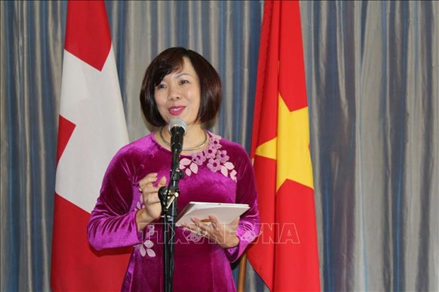 Webinar on Vietnamese market held in Switzerland hinh anh 1