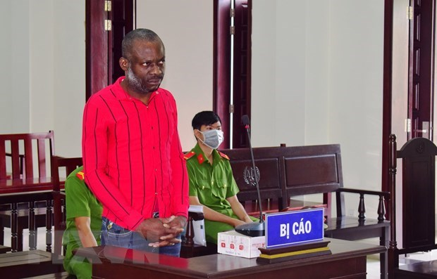Nigerian man sentenced to death for transporting nearly 4kg of meth hinh anh 1