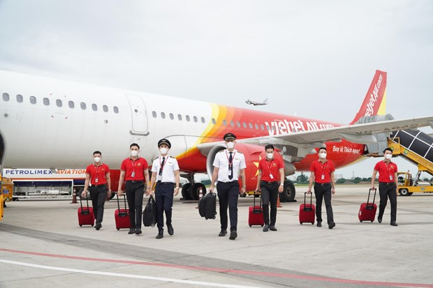 Vietjet certified with highest global rating for COVID-19 compliance hinh anh 1
