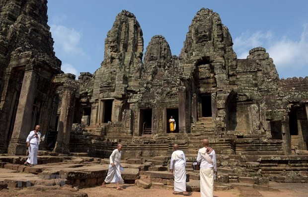 Angkor welcomes over 4,000 foreign arrivals in two months hinh anh 1